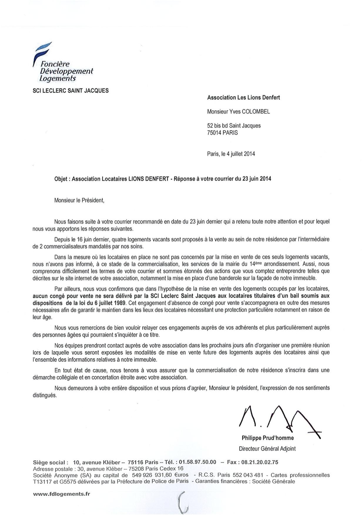 Ebook lettre conge locataire pour vente for Conge bail meuble